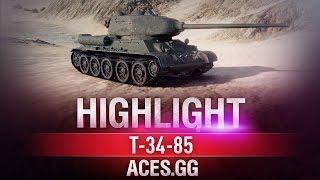Лучший! Т-34-85 в World of Tanks!