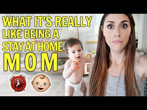 24-Hours in the Life of a Stay At Home Mom with Baby ⏰ MOM VLOG