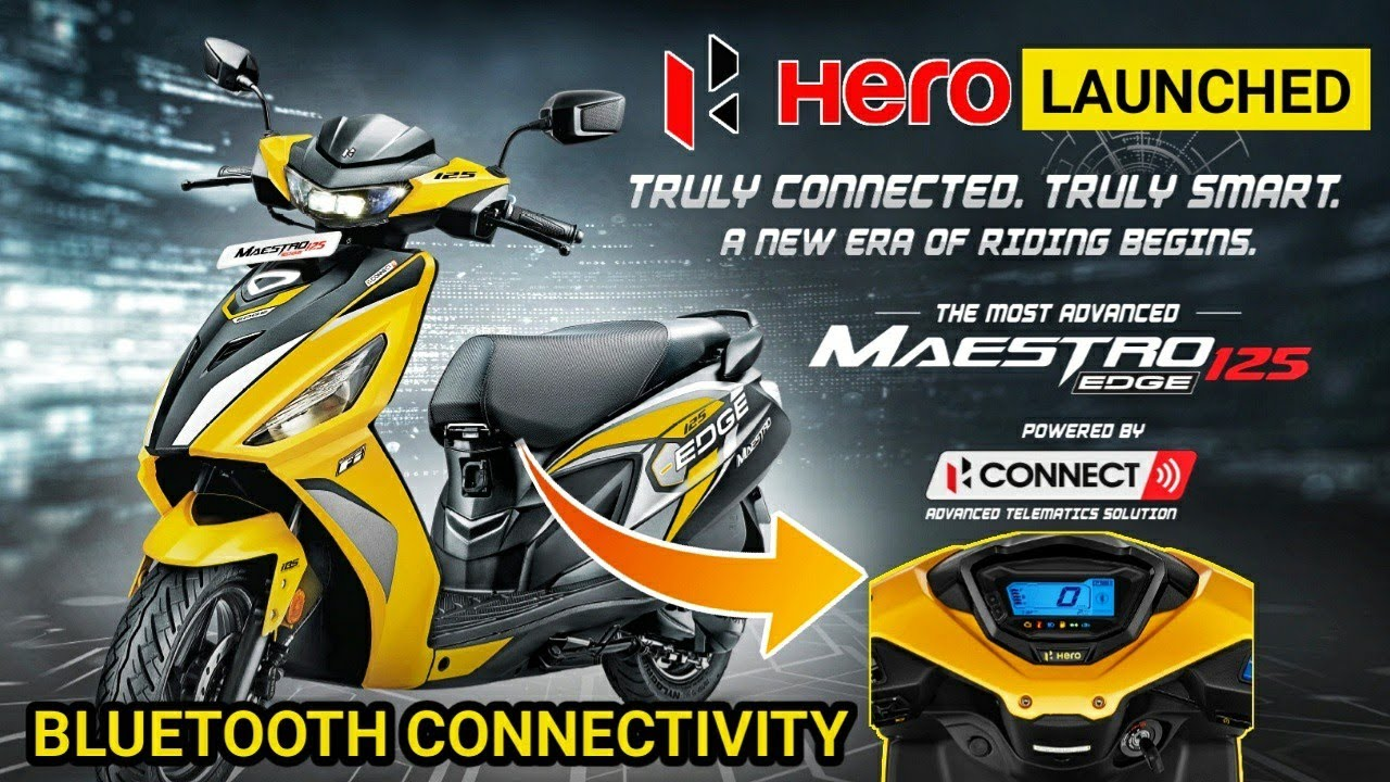 New 2021 Hero Maestro Edge 125 Launched | Bluetooth Connectivity | Fully Digital Meter | Price