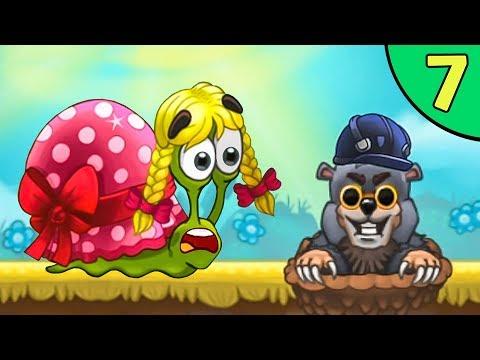 Несносный УЛИТКА БОБ 3. Серия 7. Мультик Snail Bob 3 на канале Игрули TV