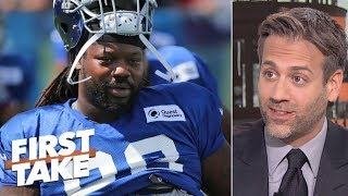 Giants lost trade with Lions for Damon 'Snacks' Harrison - Max Kellerman | First Take