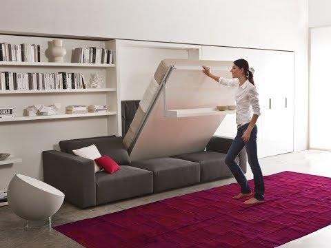 Шкафы кровати и мебель трансформер / Wall Beds And Space Saving Furniture