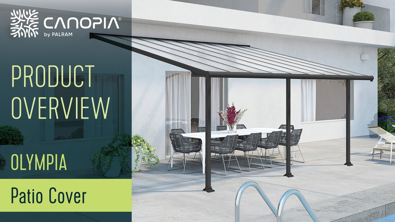 Pergola Awning & Patio Cover - Olympia™ by Palram Applications