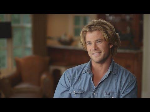 Chris Hemsworth is Mega Hot Behind the Scenes of 'Vacation'