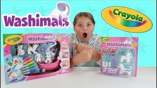 Crayola Washimals Scribble Scrubbie Pets Playset