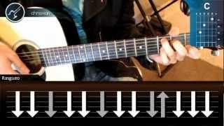 "Cómo tocar ""21 Guns"" de Green Day en Guitarra Acústica (HD) Tutorial - Christianvib"