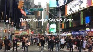 Times Square Spring Expo