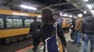 【終夜運転】近鉄22000系+12200系12235編成特急大阪難波行き到着