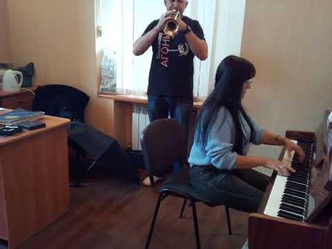 """М.И.Глинка """"Я помню чудное мгновенье"""" Партия фортепиано Светлана Лобовв"""