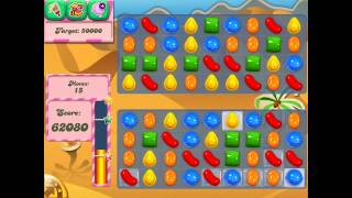 Candy Crush Saga: Level 120 (No Boosters) Gameplay on iPad 4