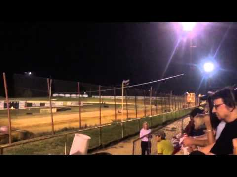 Kyle Goforth feature race at Oklahoma Sports Park In Ada, OK 9/25/15