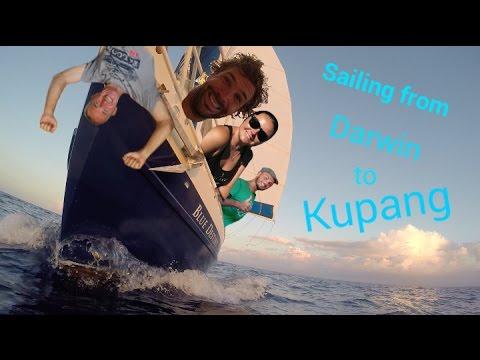 Sailing from Darwin to Kupang