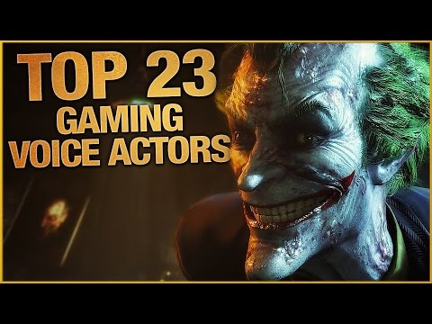 Top 23 Voice Actors In Gaming