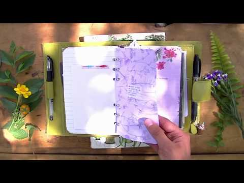 How I'm Using My Nature Inspired Journal Pt. 1
