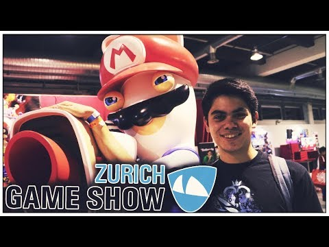 Unterwegs auf der Zurich Game Show [Schweizerdeutsch]