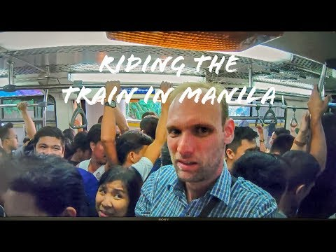 Riding the Train in Manila