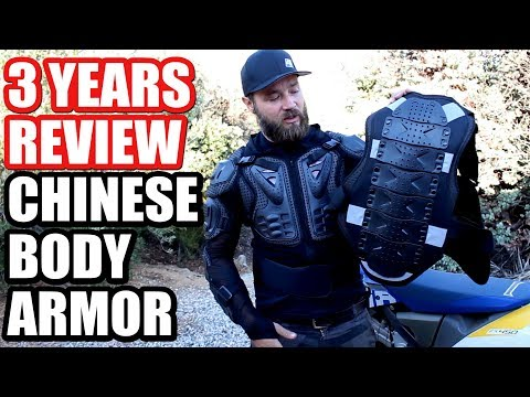 Chinese Body Armor For Dirt Bike Riding - Long Term Review