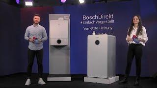 BoschDirekt #EinfachVorgestellt Vernetzte Heizung