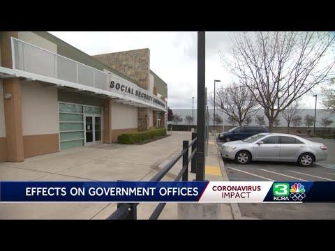 Coronavirus concerns prompt government shutdowns in California