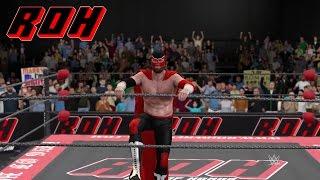 WWE 2K17 - Ring of Honor | Custom Music & Attires