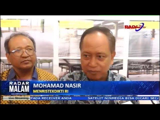Wow, Meristekdikti Bakal Jadikan Itera Lampung Lebih Dari IPB