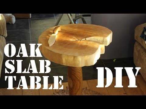 Making an Oak Slab Table for £20