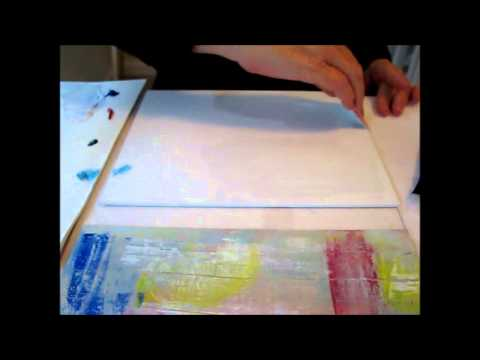 Abstract Painting Tutorial on Canvas 2