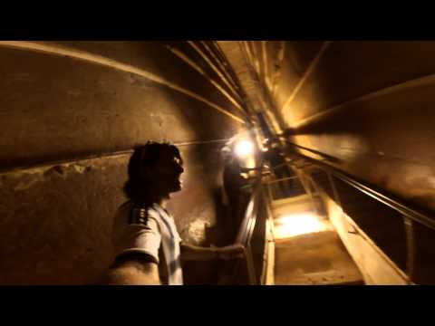 Keops Pyramid. Khufu Pyramid. Going inside the chamber