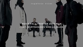rag & bone Men's Fall/Winter 2015 Film feat. Baryshnikov and Lil Buck(In celebration of the FW15 menswear collection, rag & bone debuts a short film as a study of movement featuring Mikhail Baryshnikov and Lil Buck. Discover ..., 2015-02-04T14:38:59.000Z)