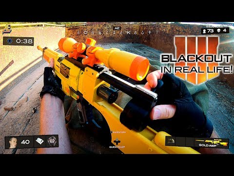 Nerf meets Call of Duty: BLACKOUT in real life! (First Person Shooter) letöltés
