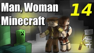 "Man Woman Minecraft S2E14 ""You Saved Me!"" (Jungle Island Survival)"
