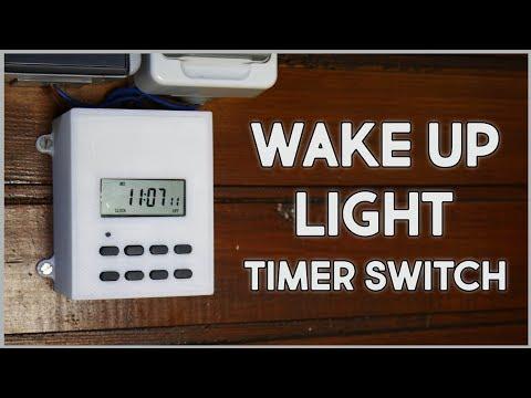 DIY wake Up Light Alarm Clock