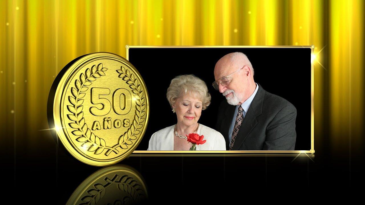 bodas de oro - fondos de video para bodas - pack 1