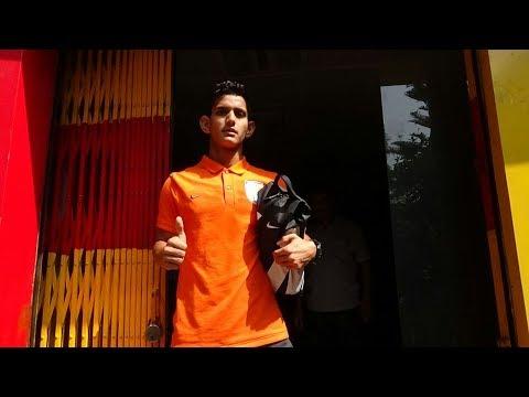 What is India U17 footballer Jitendra Singh doing at East Bengal club?