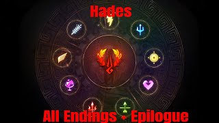 Hades All Endings+epilogue combined