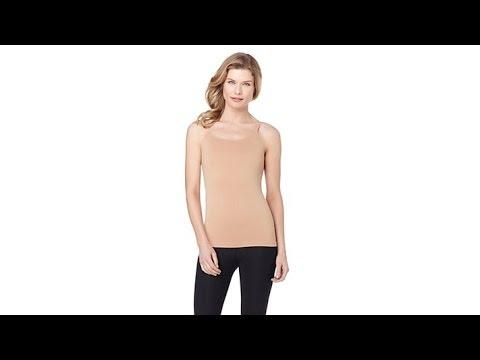 Rhonda Shear 2pack Seamless Shelf Bra Camisole