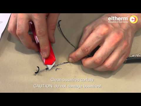 Heating cable self regulating ELSR-N-BO power termination (electrical heat trace)