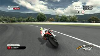 MotoGP 08 PC Gameplay - 2