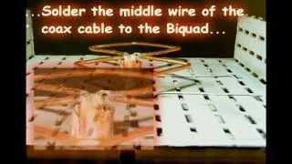 Biquad Anten ile Kablosuz İnternet Alıcısı Yapımı