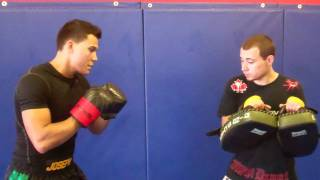 Ultimate Martial Arts Tip: Pad Holding For A Round Kick