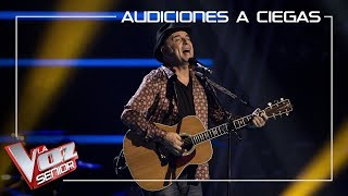 José Mª Guzmán canta 'Señora azul' | Audiciones a ciegas | La Voz Senior Antena 3 2019