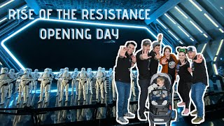 Rise of the Resistance Opening Day at Walt Disney World!
