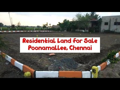 Residential Land For Sale At Poonamallee, Chennai | Rs. 6.9 Lakhs | World New Property