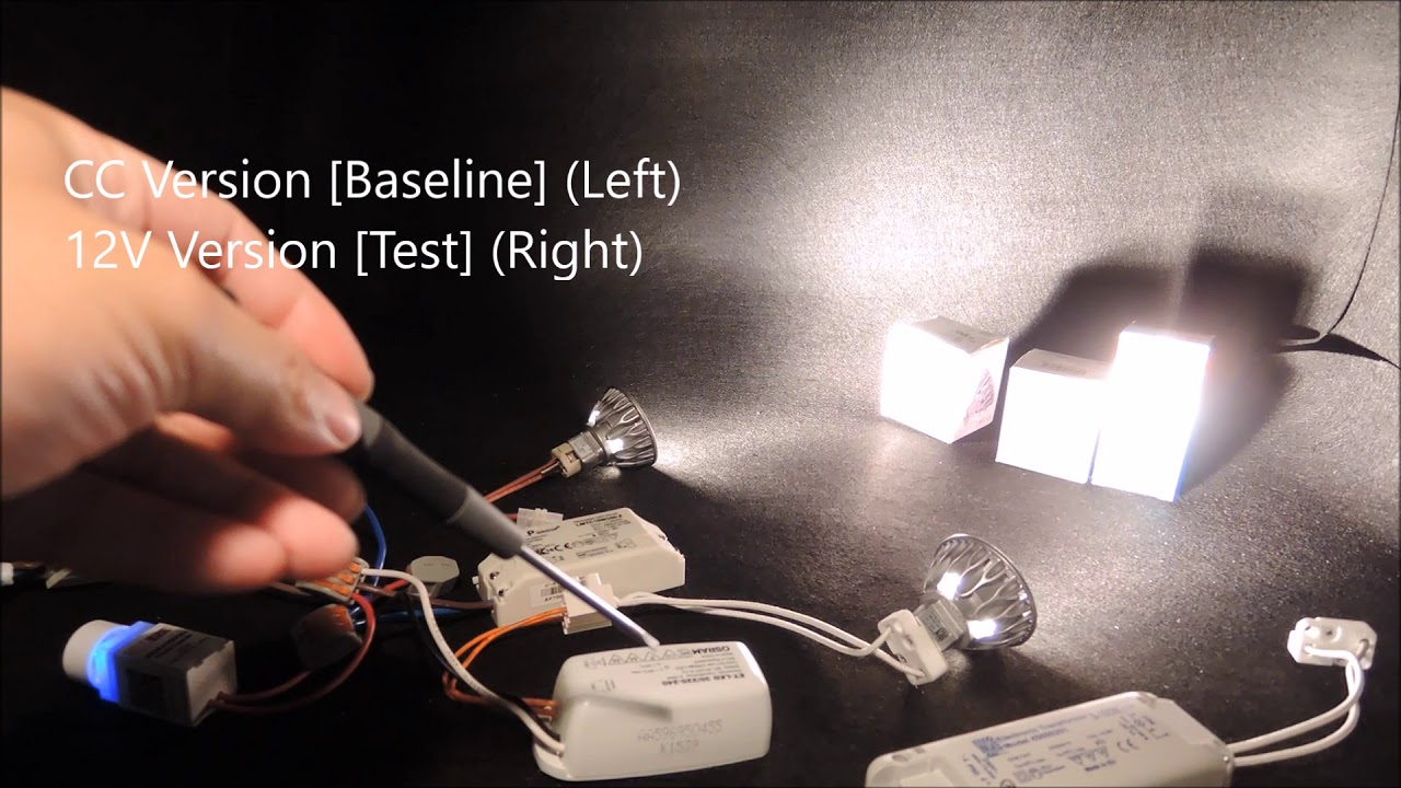 hight resolution of constant current led mr16