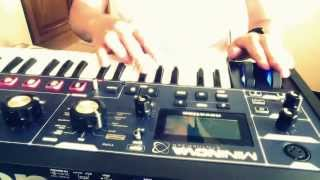 Introducinglive // Daft punk's 'Derezzed' - Novation Mininova
