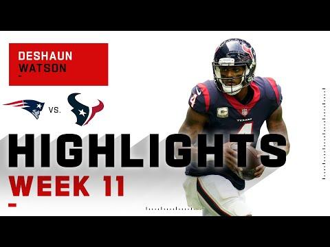Deshaun Watson Overpowers the Patriots w/ 3 TDs   NFL 2020 Highlights