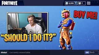 Fan Asks Tfue to Buy the Durr Burger Skin, he responds... | Fortnite Best Moments