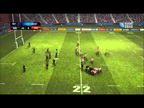New Zealand vs Japan - RWC 2011 - Pool A - Match 1