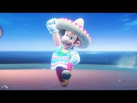 Super Luigi Odyssey Walkthrough Part 2 - Sand Kingdom + The Inverted Pyramid