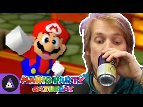 The More You Drink The Better You Get? - Mario Party 3 | Mario Party Saturday